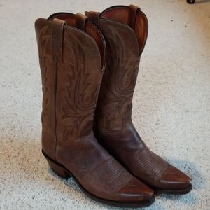 8 1883 Lucchese western boots